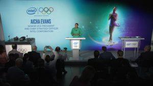 Intel Olympic Sponsorship Press Event